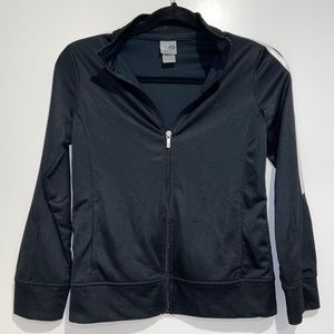 Champion Black Workout Zip-Up Hoodie